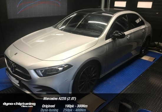Stage 1 ready for the Mercedes-Benz A220