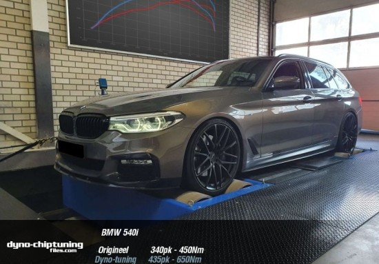 Stage 1 ready for the BMW 540i